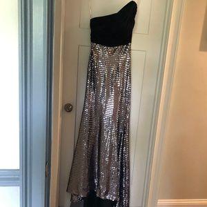 Dresses & Skirts - one shoulder floor length dress